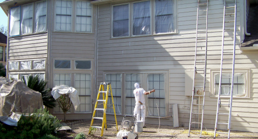exterior painting houston